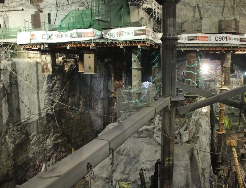 (QLD) Admiralty Station Hong Kong: Rock Excavation and Support Challenges