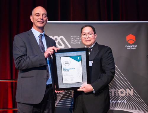 Harry Asche – QLD Professional Engineer of the Year
