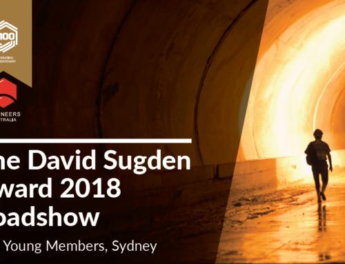 ATSym NSW  – The David Sugden Award 2018 – 20th March 2019