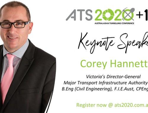 Corey Hannett Joins List of ATS 2020+1 Keynote Speakers